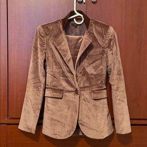 Rachel Zoe Women's Velvet Suit